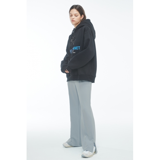 #ZPA3 Relax track pants [GREY]