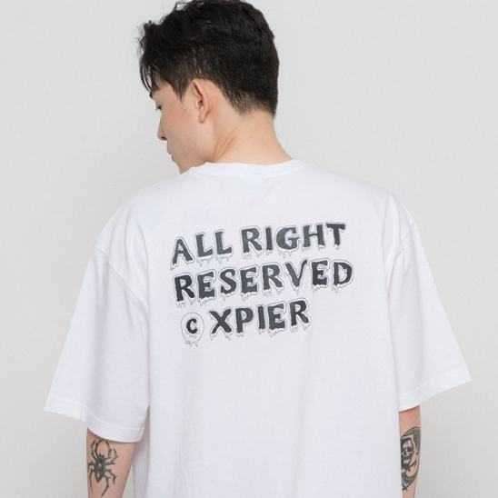 x All Right T-shirts White
