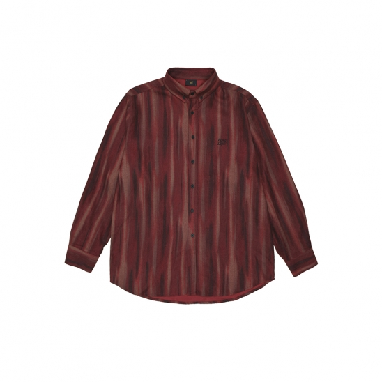 BB DEPT STRIPE SHIRTS - RED