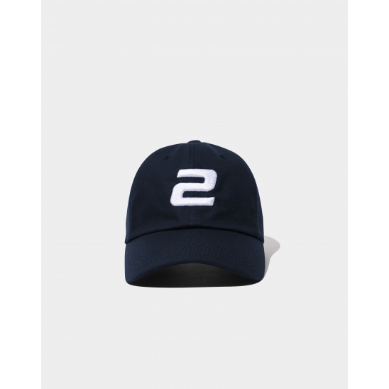 23.65 2LOGO BALL CAP NAVY