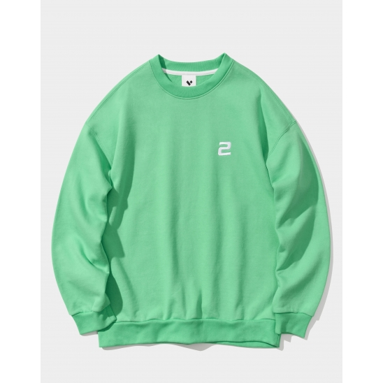 23.65 2LOGO SWEAT SHIRTS GREEN