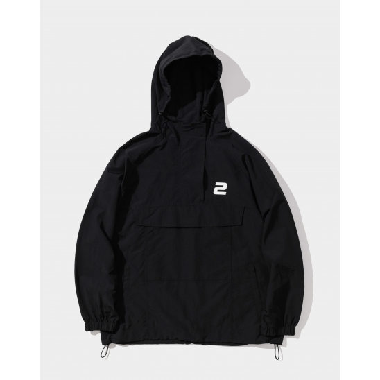 23.65 BIG POKET ANORAK BLACK
