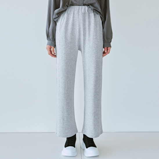DAILY SOFT WIDE PANTS_GRAY