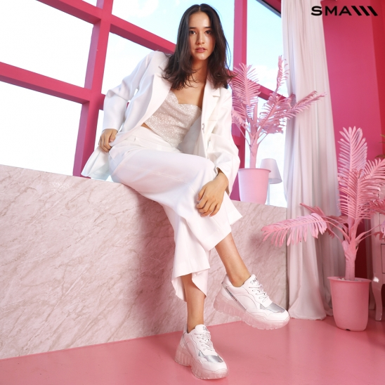 SMA SHOES 조슈아 스니커즈 스노우