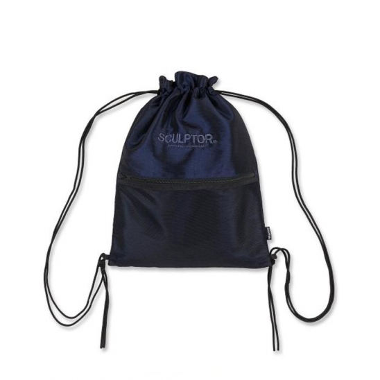Iridescent Drawstring Bag [GRAY BLUE]