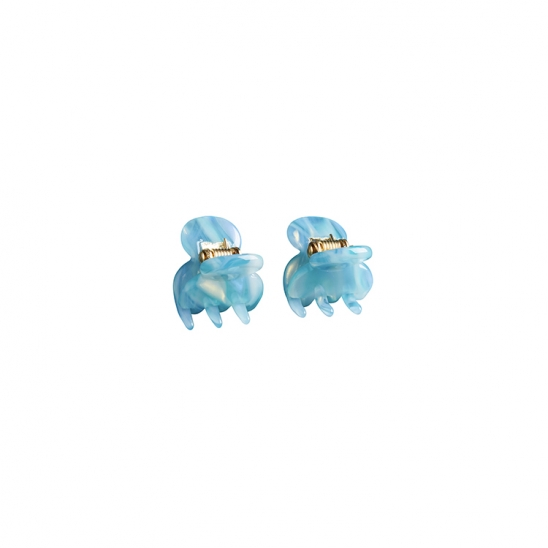 C MINI HAIR CLIP_LIGHT BLUE