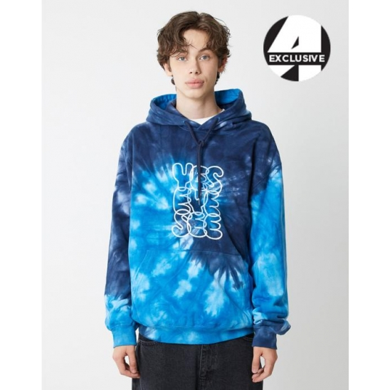 [A.T.C EXCLUSIVE]  Dyed Hoodie Blue/Navy