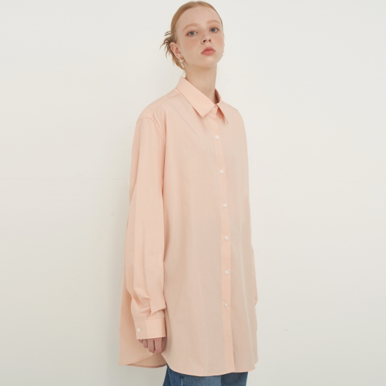 OVERFIT SOFT SHIRT_peach