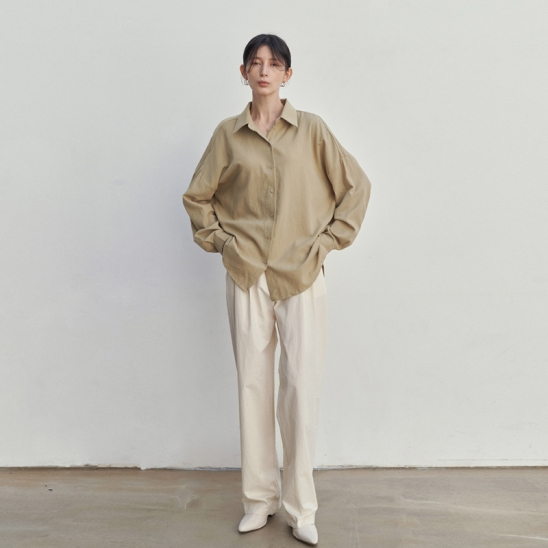 EASY BOY FIT SHIRTS_YELLOW