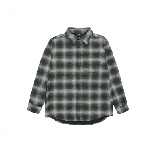 SPREAD HEAVY SHIRTS - KHAKI
