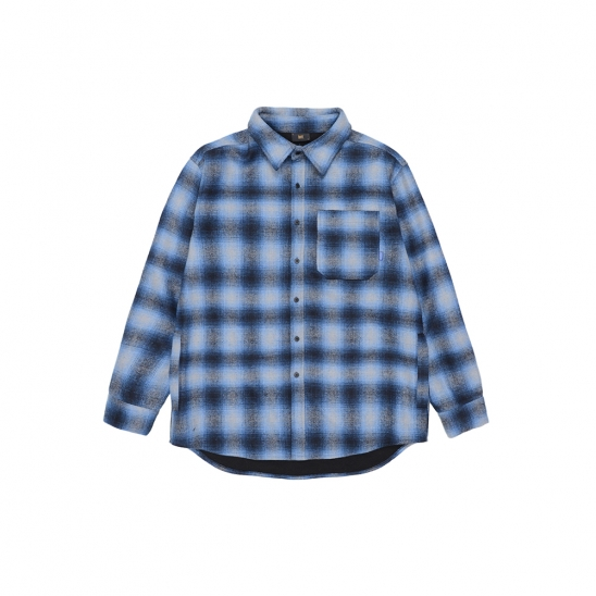 SPREAD HEAVY SHIRTS - BLUE