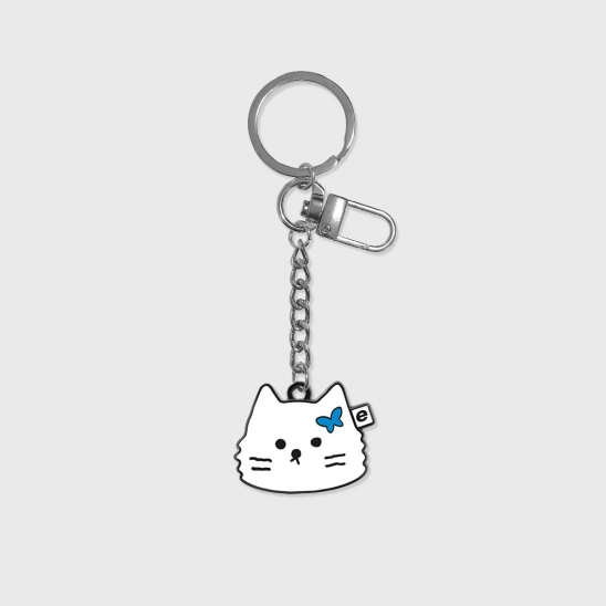 Face awesome cat(금속 키링)
