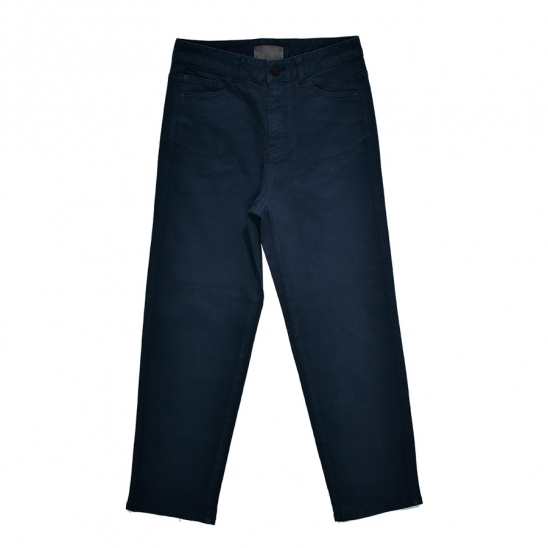 Tapered Dyeing Pants (Navy)