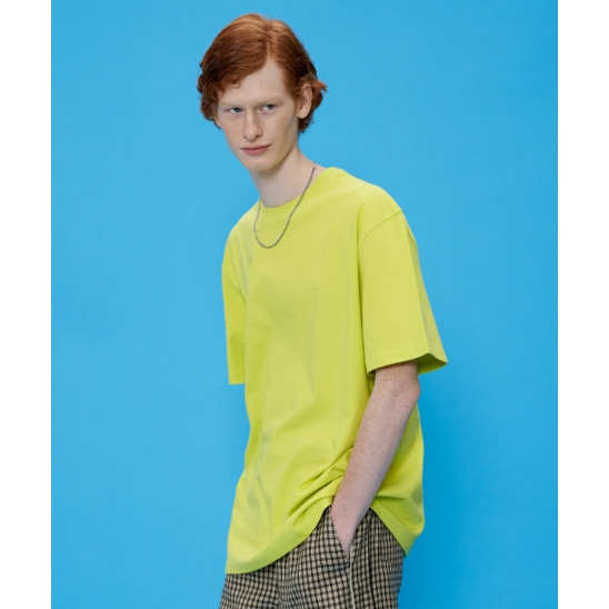 OTHER-Logo T-shirt [Lime]