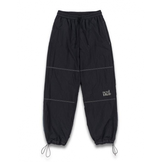 [UNISEX] Triple Stitched Jogger Pants [BLACK]