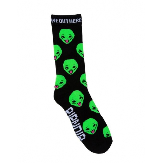 We Out Here Socks  - Black