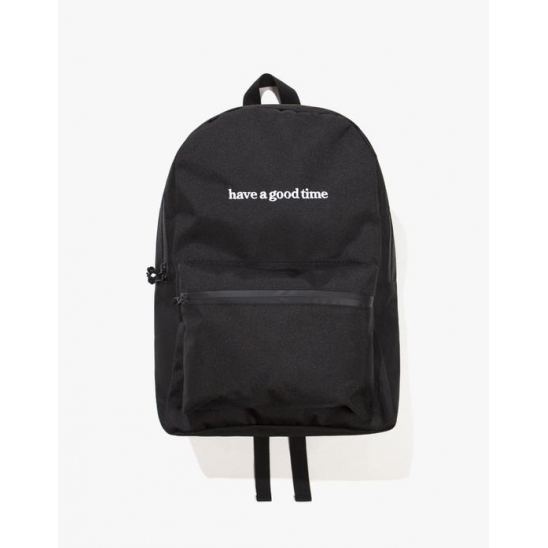 SIDE LOGO BACKPACK - BLACK