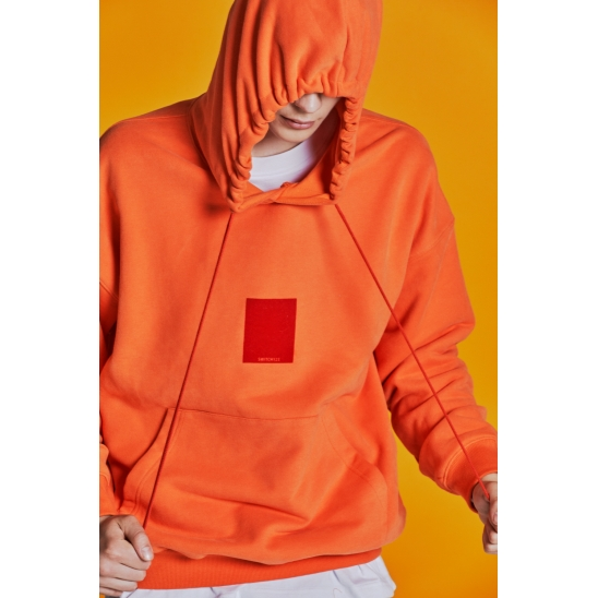 SMALL SWITCH HOODIE _ ORANGE