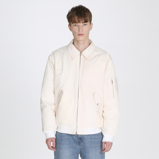 Flight jacket_cream