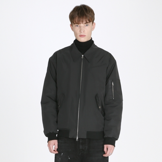 Flight jacket_black