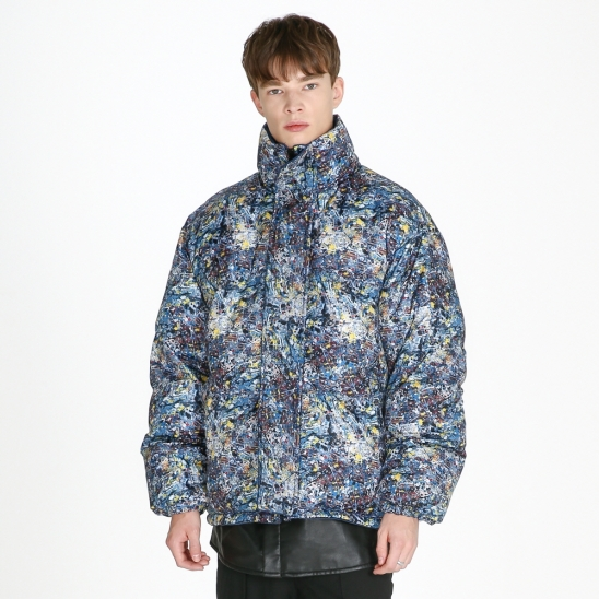 Reversible padded Jacket_ multi