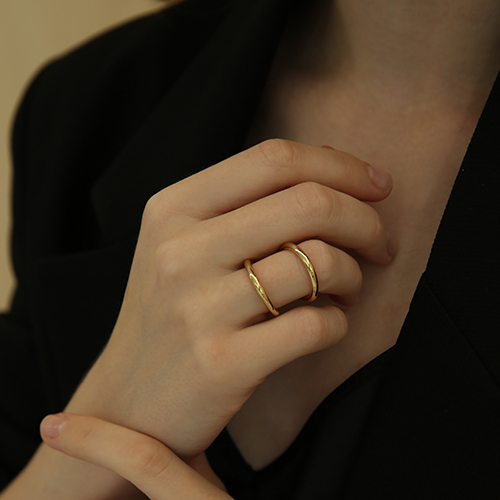 round double ring R001