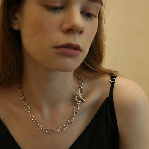 volume chain necklace N004