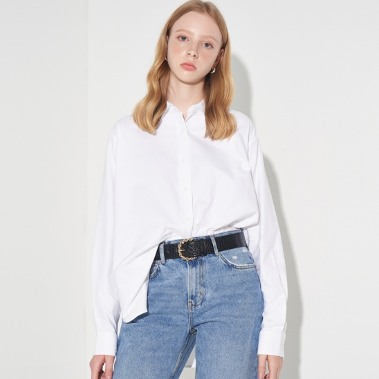 BASIC OXFORD SHIRT_WHITE