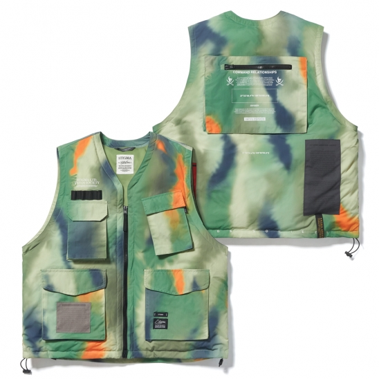 DV TECH PADDED VEST PATTERN