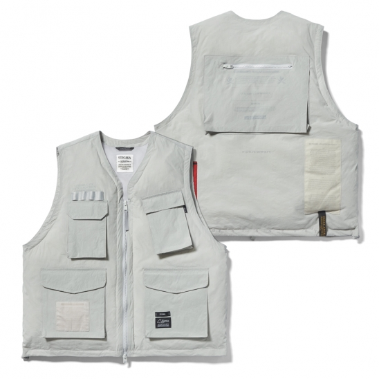 DV TECH PADDED VEST GREY