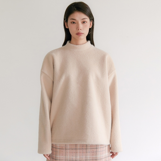 FLU WOOLLY KNIT BEIGE