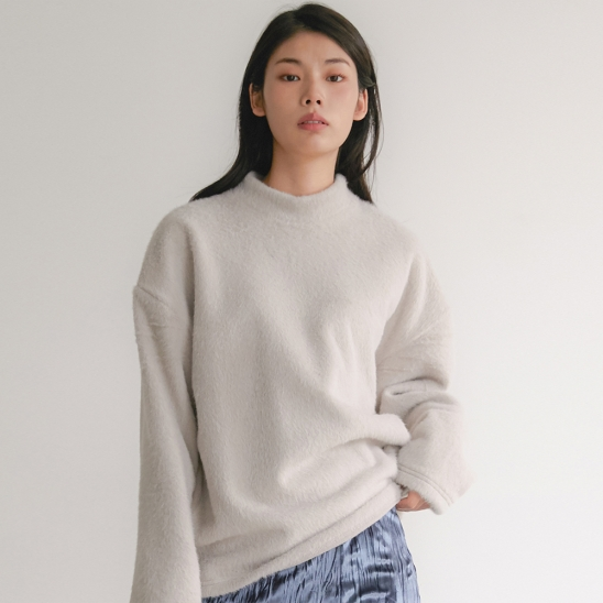 FLU WOOLLY KNIT GREY