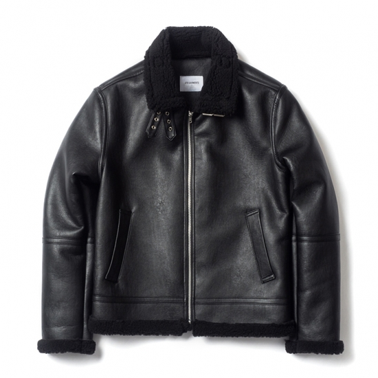 ND B-3 Mouton Jacket (Black)