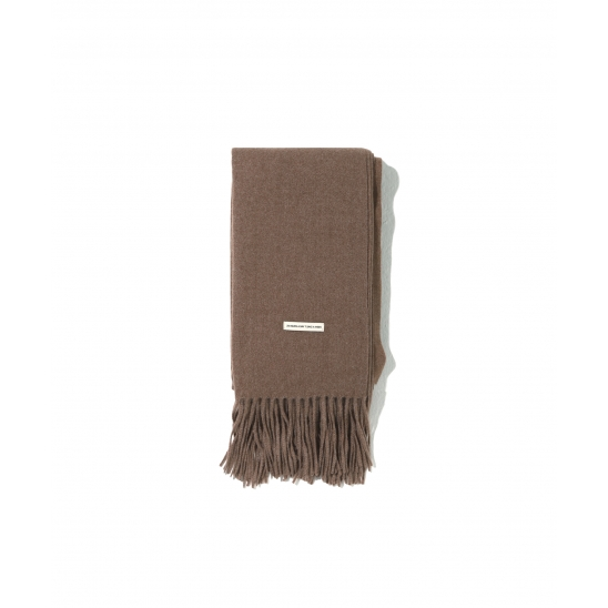 PREMIUM LAMBS WOOL MUFFLER [BROWN]