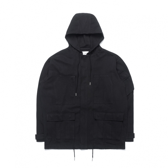 ND Cotton Field Jacket (Black)
