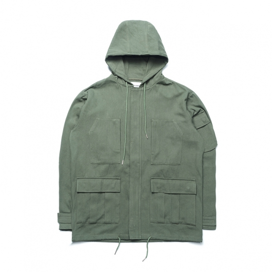 ND Cotton Field Jacket (Khaki)