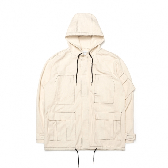 ND Cotton Field Jacket (Oatmeal)