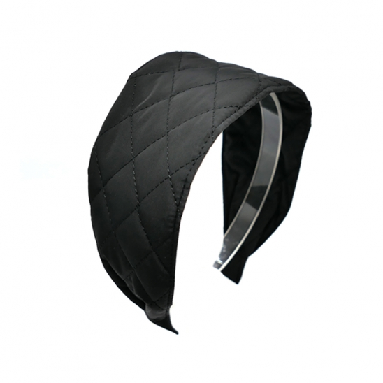 quilting basic hairband (black)