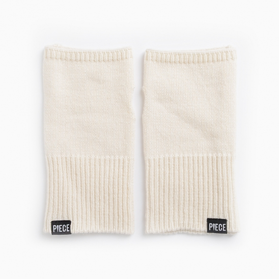 CASHMERE ARM COVER (IVORY)