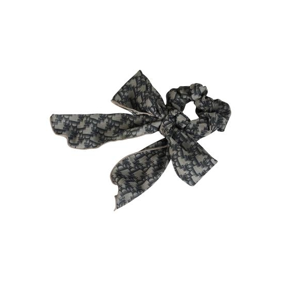 13M PATTERN RIBBON HAIR BAND (GRAY)