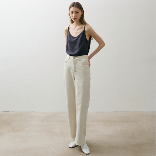 Linen Sleeveless - Deep Grey