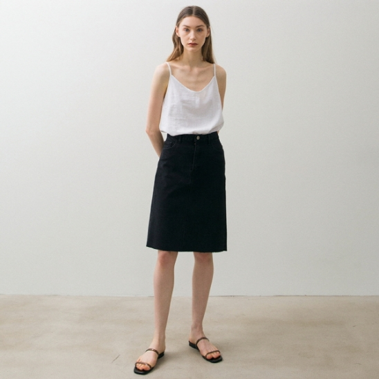 Linen Sleeveless - White