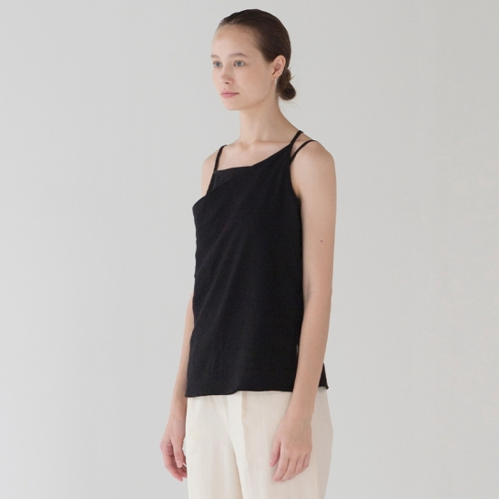 Layer Strap Top - Black