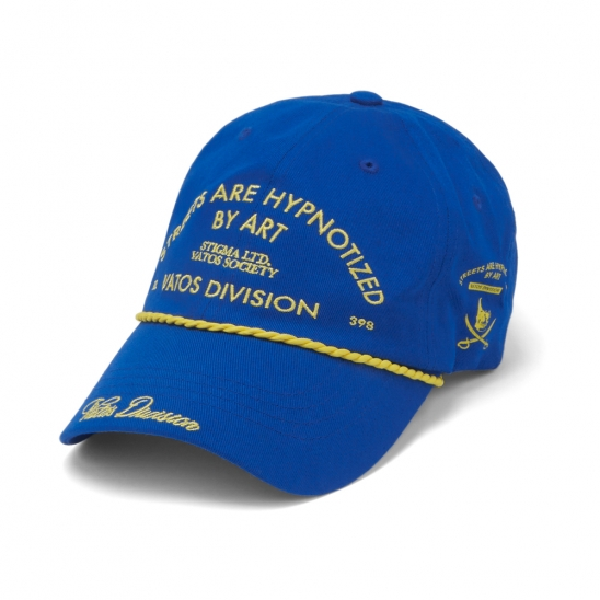 ROPE BASEBALL CAP BLUE