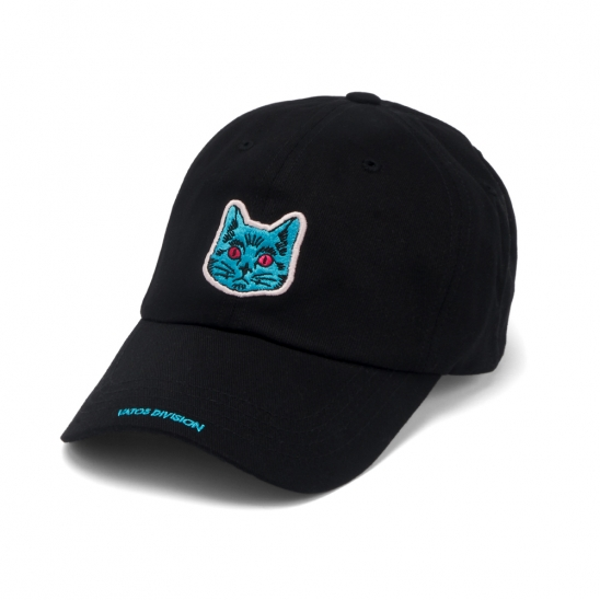 CAT BASEBALL CAP BLACK