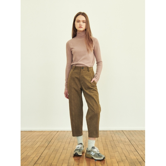 ANKLE-LENGTH CARROT PANTS (JTJS305-70)