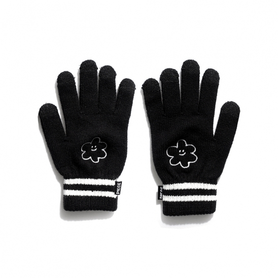 [EZwithPIECE] GLOW DAISY SMART GLOVES (BLACK)