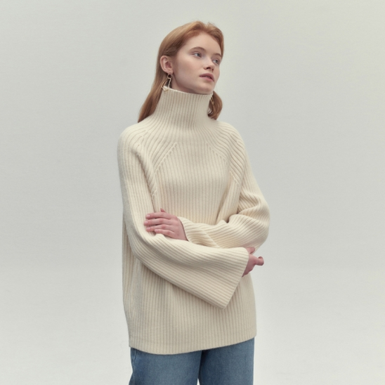 CLOUD GOLGI KNIT_IVORY