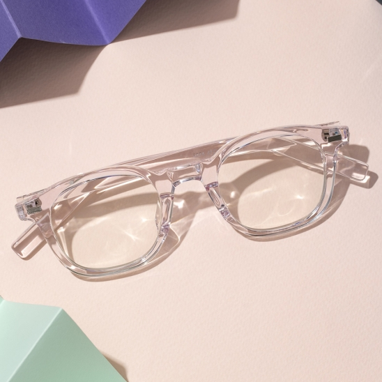 RECLOW E374 CRYSTAL PINK GLASS