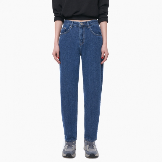 LW113 CASUAL TAPERED DENIM PANTS_BLUE